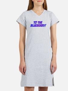 Psych, Blueberry! Women's Nightshirt