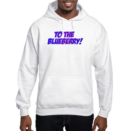 Psych, Blueberry! Hooded Sweatshirt