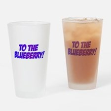 Psych, Blueberry! Drinking Glass