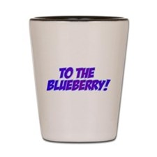 Psych, Blueberry! Shot Glass