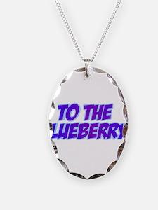 Psych, Blueberry! Necklace