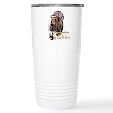 Bloodhound Detective Travel Coffee Mug