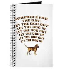 Bloodhound Schedule Journal