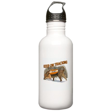 tracking bloodhound Stainless Water Bottle 1.0L
