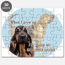 bloodhound puppy Puzzle