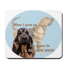 bloodhound puppy Mousepad