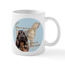 bloodhound puppy Small Mugs