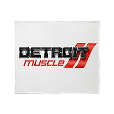 DETROIT MUSCLE Throw Blanket