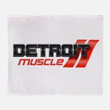 DETROIT MUSCLE Throw Blanket