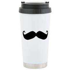 Mr.Moustachio Travel Mug