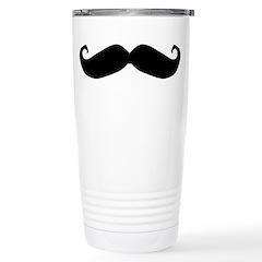 Mr.Moustachio Travel Mug