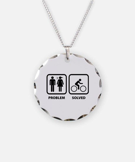 Problem Solved Cycling Necklace