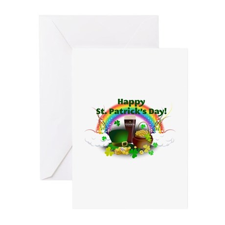 Happy Saint Patrick's Day Greeting Cards (Pk of 20