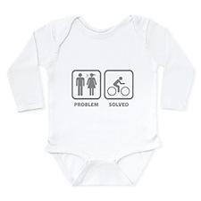 Problem Solved Cycling Long Sleeve Infant Bodysuit