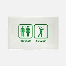 Problem Solved Golfing Rectangle Magnet