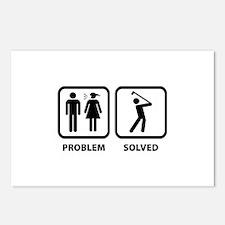 Problem Solved Golfing Postcards (Package of 8)
