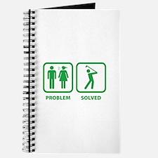 Problem Solved Golfing Journal