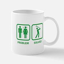 Problem Solved Golfing Mug