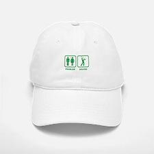 Problem Solved Golfing Baseball Baseball Cap