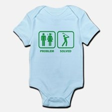 Problem Solved Golfing Infant Bodysuit