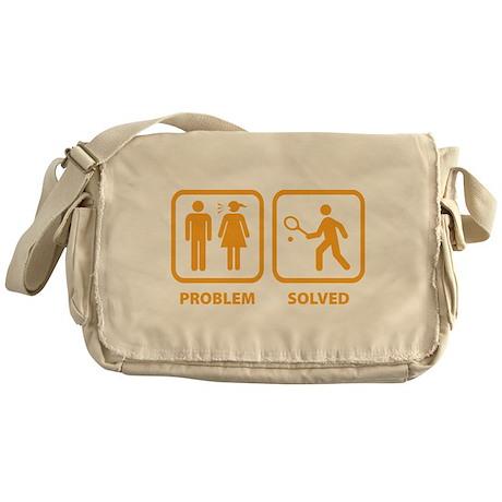 Problem Solved Tennis Messenger Bag