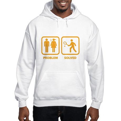Problem Solved Tennis Hooded Sweatshirt