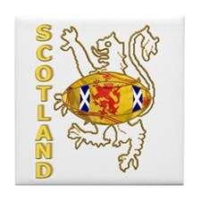 Scotland Rugby Designs Tile Coaster