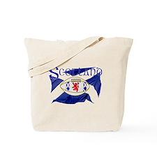 Scotland rugby flag Tote Bag
