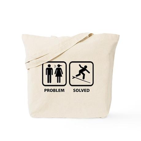 Problem Solved Surfing Tote Bag