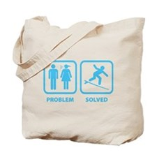 Problem Solved Surfing Tote Bag