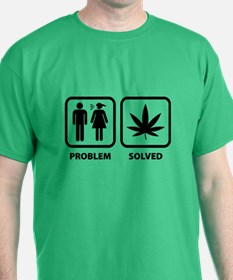 Problem Solved Weed T-Shirt