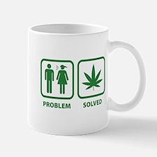 Problem Solved Weed Mug
