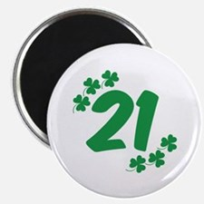 "21st Irish Birthday 2.25"" Magnet (10 pack)"