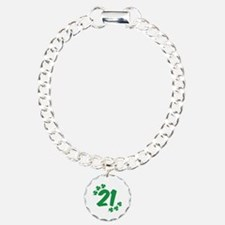 21st Irish Birthday Bracelet