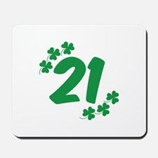 21st Irish Birthday Mousepad