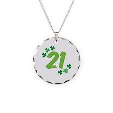 21st Irish Birthday Necklace