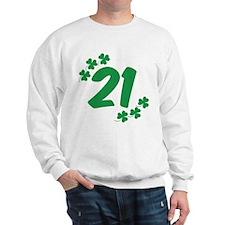 21st Irish Birthday Sweatshirt