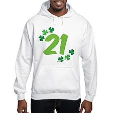 21st Irish Birthday Hoodie