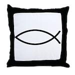 Christianity Throw Pillow