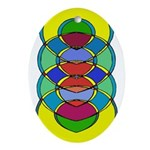 TRANQUILITY   Oval Ornament