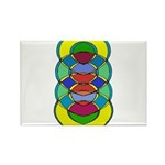 TRANQUILITY Rectangle Magnet (100 pack)