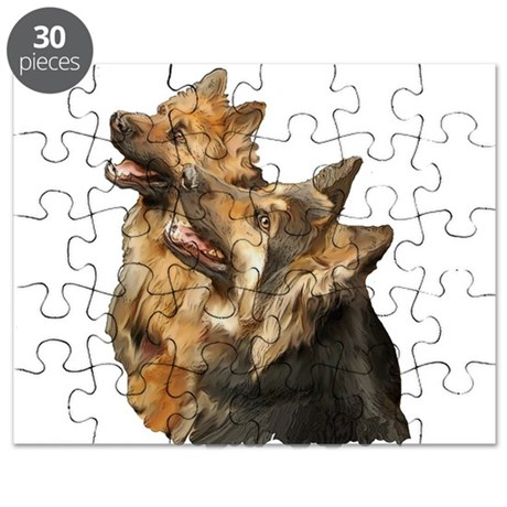 Long coat shepherd Puzzle
