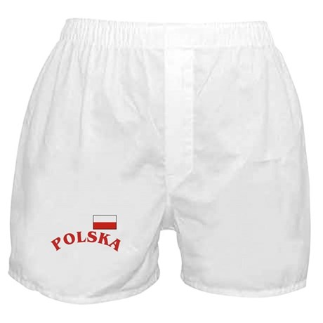 Polish / Polska Flag Boxer Shorts