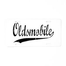 Olds Aluminum License Plate