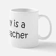 Mommy is a Botany Teacher Mug