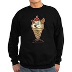 Get the cherry, Witty Sweatshirt (dark)