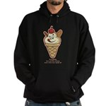 Get the cherry, Witty Hoodie (dark)