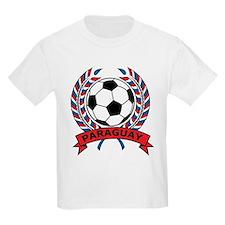 Soccer Paraguay Kids T-Shirt