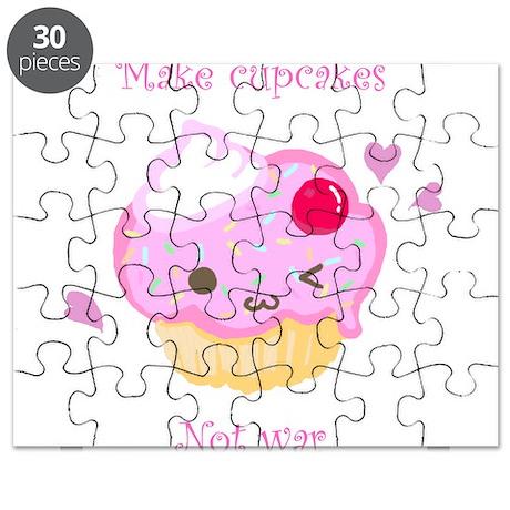 """Make Cupcakes, Not War"" Puzzle"