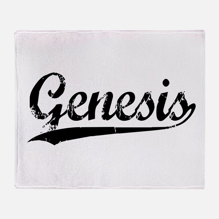 Genesis Throw Blanket